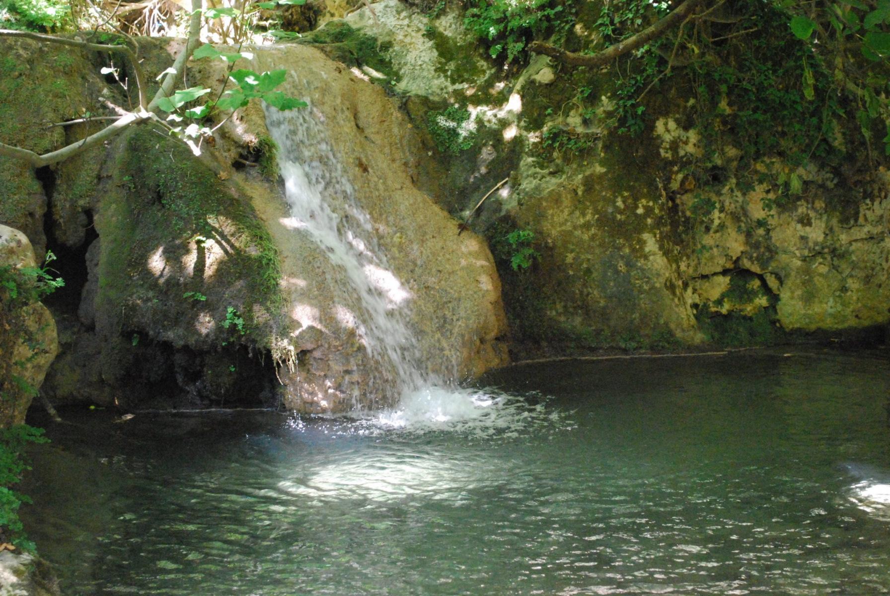 waterfall in Myligorge